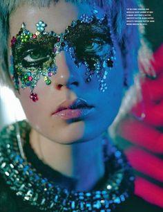 "Aquarius - ""Decadence in the Disco"" Caroline Brasch Nielsen by Richard Bush for i-D Magazine Spring 2014 - http://www.simplysunsigns.com/"