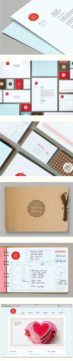 Branding Concept for a Bakery by Marina Sidorko