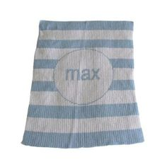 """Butterscotch Blankees Personalized Modern Stripe Blanket 10 colors Baby at Home """"#Baby #Toddler #gear # #Boy #Girl #Feeding #Nursing #Nursery #Diapering #Accessories #strollers #Bath #Bedding #furniture #Strollers #Decor #Play #Clothing #Shoes #Bedroomdecor """""""