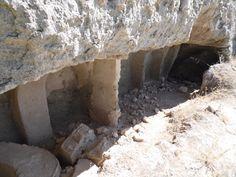 OREJA - ONTÍGOLA (TOLEDO). Cuevas alrededor del Castillo.