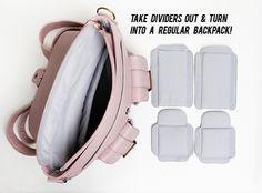 Epiphanie Turquoise Brooklyn #camera backpack #bag