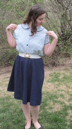 A Taste of Spring: A Fifties Blouse