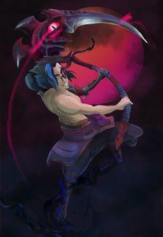 KAYN (League of Legends) by Cozah