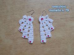 orecchini ventaglio con perline prezzo 4.00 euro