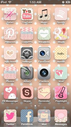 Cocoppa Wallpaper, Tumblr Iphone Wallpaper, Iphone Background Wallpaper, Iphone 8, Iphone Icon, Iphone Cases, Netflix App, Apps For Teens, Cute Themes
