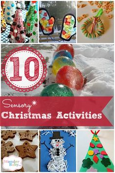 During the holidays we are baking, decorating and spending time with family and friends. Get your kids involved by having them help in the kitchen, create Christmas decorations or make their own gifts to give to their friends. There are so many ways to engage all kids, including those with visual impairments or other disabilities. Here are some of our favorite Sensory Christmas Crafts & Activities!
