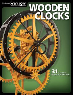 Includes 31 hand-selected clock projects from 8 years of Scroll Saw Woodworking & Crafts.