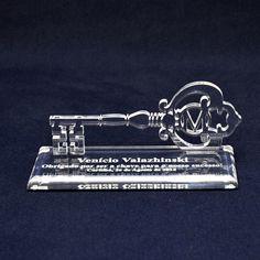 Troféu modelo chave