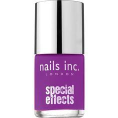 NAILS INC Neon crackle nail polish ($6.73) ❤ liked on Polyvore featuring beauty products, nail care, nail polish, beauty, nail, camden town, nails inc. and nails inc nail polish