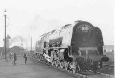 46251 City of Nottingham Annesley Young Lad, Steam Railway, British Rail, Steam Engine, Steam Locomotive, Nottingham, Royals, Shed, Journey
