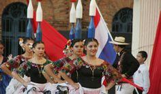 La danza de la botella, tradición Paraguaya, interpretada por las hermosas paraguayas.