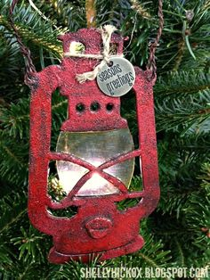 Stamptramp: 12 Days of Ornaments - Day 1!