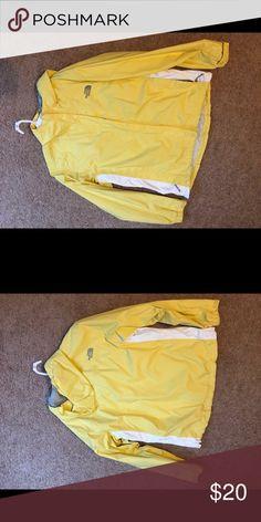 Northface Rain Gear Yellow, NF rain coat. North Face Jackets & Coats Trench Coats
