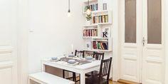 """Prý vám změní život: co ve skutečnosti znamená severské """"hygge""""? Decor, Bookcase, Corner Bookcase, Shelves, Home Decor, Hygge"""