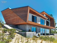 Bauhaus-Style Cape Cod House Gets A Guesthouse by Hariri & Hariri | Projects | Interior Design