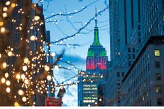 When New York City lights up during the winter months with twinkling trees, skating rinks, festive events and holiday cheer, the glitter of the Big Apple practically bursts at the seams.
