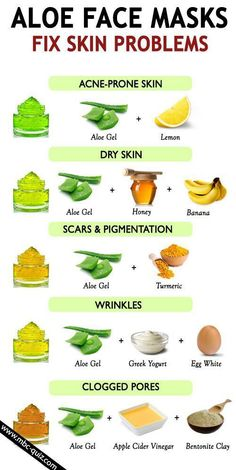 Aloe vera face masks for all skin problems Beauty Tips For Glowing Skin, Clear Skin Tips, Beauty Skin, Natural Beauty, Beauty Care, How To Clear Skin, Skin Glow Tips, Food For Glowing Skin, Natural Toner
