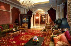 Арабский стиль в интерьере: особенности оформления квартиры или дома
