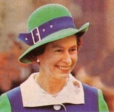 Girls Wearing Hats: A Hat Fit for a Queen - Happy Birthday Queen Elizabeth