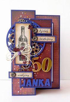 Najlepsze pomysły na Pintereście w temacie Kartki ... - WP Poczta Birthday Numbers, Birthday Cards, Scrapbook Cards, Scrapbooking, Exploding Boxes, Funny Cards, Masculine Cards, Quilling, Wedding Anniversary