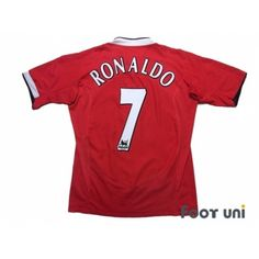 Manchester United 2004-2006 Home Shirt #7 Ronaldo #manchesterunited #manchesterunited2004 #manchesterunited2006 #manchesterunitedshirt #manchesterunitedjersey #ronaldo #ronaldo7 #cr7 #vodafone #nike - Football Shirts,Soccer Jerseys,Vintage Classic Retro - Online Store From Footuni Japan #footuni #football #soccer #footballshirt #footballjersey #soccershirt #soccerjersey #jersey #vintage #vintageclothing #vintagejersey #vintagefootballshirt #classic #retro #old #fussball #collection… Nike Football, Soccer Shirts, Football Jerseys, Manchester United Premier League, Manchester United Shirt, Vintage Football Shirts, Vintage Jerseys, Ronaldo, Vintage Outfits