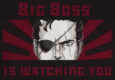 Bilderesultat for big boss is watching you Boss, Movie Posters, Movies, Fictional Characters, Art, Art Background, Films, Film Poster, Kunst