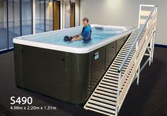 DoggySwim S490 Canine Hydrotherapy Pool