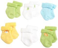 Project Baby Socks on Pinterest