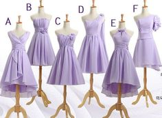 Hey, I found this really awesome Etsy listing at https://www.etsy.com/listing/190445823/lavender-bridesmaid-dress-short