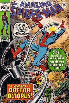 The Amazing Spider-Man #88 - September 1970 cover by John Romita Sr