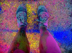 Color Run- after!