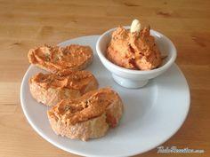 Receita de Patê de tomate seco e queijo de cabra