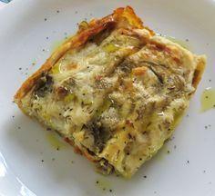 Lasagne con carciofi e salsiccia (Ricette della Nonna)