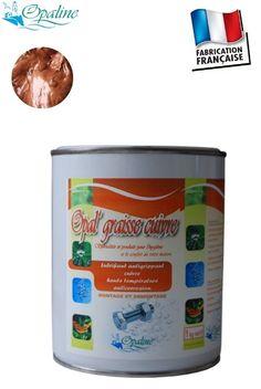Graisse au cuivre - Graisse cuivre haute température 1100°C - OPAL GRAISS CUIVRE
