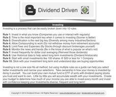Dividend Investing | DividendDriven.com: Dividend Driven | Investing