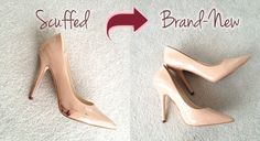 The Secret to Removing Stubborn Scuff Marks from Patent Leather - Yes Missy!
