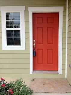 orange door!