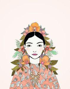 portrait by Katy Smail