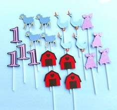Charlotte's Web inspired Cupcake Toppers by BellasPerfectParty