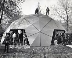 Geodesic Dome by Richard Buckminster Fuller.