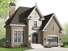 Plan de maison no. W3413-V2 de dessinsdrummond.com