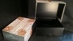 Pomysły plastyczne dla każdego, DiY - Joanna Wajdenfeld: Pudełka z koronkowymi okuciami, na szybko