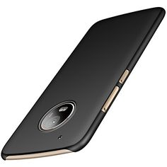 Anccer Motolora Moto G5 Plus Case [Colorful Series] [Ultra-Thin] [Anti-Drop] Premium Material Slim Ultra Thin Cover For Moto G Plus 5th Generation (Smooth Black) - Elegant and Unique 1.Exquisite Smoothly Shield Hard Cover Skin Shockproof Slim Cases design for Moto G5 Plus, fashion and new flavor. 2.Premium PC material: environmental and durable. 3.Smooth surface, skin and comfortable feeling. 4.A little higher than your cell phone's camera, protect your cel...