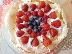A new take on a classic recipe. Summer Berry Pavlova with coconut cream, making a traditional recipe dairy free and still delicious. Nut Free, Dairy Free, Pavlova Recipe, Strawberry Blueberry, Summer Berries, Irish Recipes, Coconut Cream, Kid Friendly Meals, Gluten Free Recipes