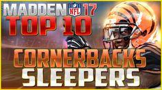 Madden NFL 17 Top 10 Sleeper Cornerbacks - http://www.sportsgamersonline.com/madden-nfl-17-top-10-sleeper-cornerbacks/