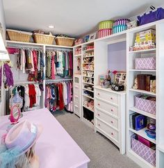 Nothing like an organized closet Credit to Remodeling Services Unlimited, Inc.... - Home Decor For Kids And Interior Design Ideas for Children, Toddler Room Ideas For Boys And Girls