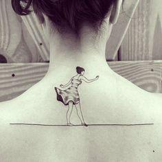 Equilibrista da Bianca hj! #ink #inked #tattoo #tattooist #blackworkers #tatuagem #draw #drawing #desenho #ilustracao #illustrator #bh #belohorizonte