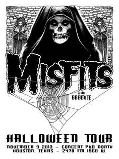 GigPosters.com - Misfits - Misfits, The - Aramite