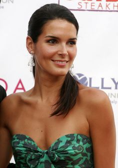 Angie Harmon, people say my daughter will look like her when she is a little older. Pretty lady