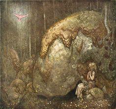 """Tomtar Och Troll"" by John Bauer - Swedish"